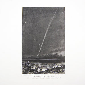 Smyth, Charles Piazzi | The Great Comet of 1843 as seen at the Cape of Good Hope...