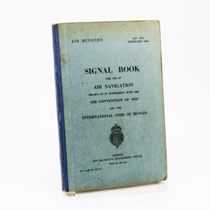 Air Ministry | Signal Book for Use in Air Navigation