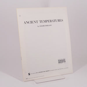 Emiliani, Cesare | Ancient Temperatures