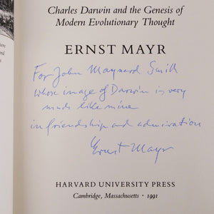 Mayr, Ernst | One Long Argument