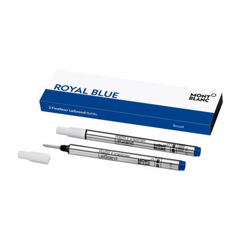 Royal Blue 2x1 Fineliner M Pen Refill