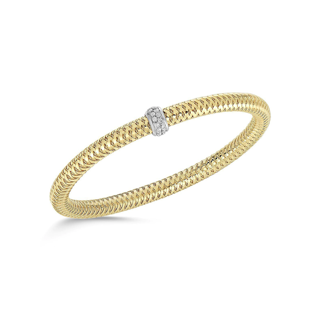 Diamond Primavera Bracelet (18k Yellow Gold)