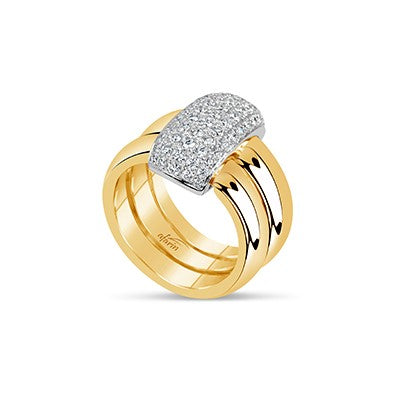 18k Yellow Gold Diamond Ring (.82ct)