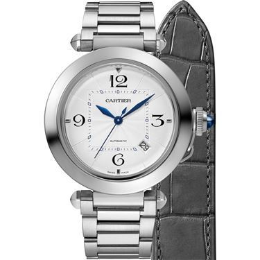 Stainless Steel 41mm Auto Pasha with Interchangeable Strap