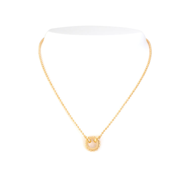 18k Yellow Gold Dora Necklace