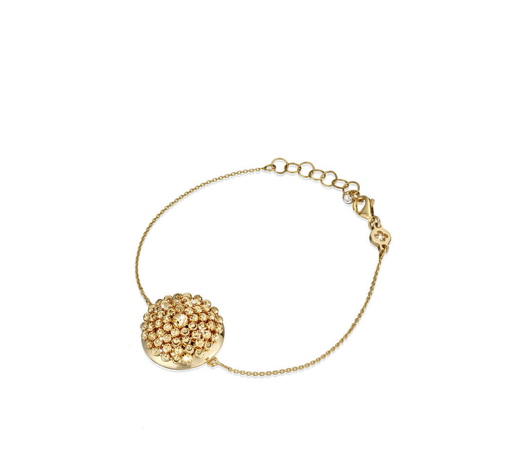 18k Yellow Gold Mimosa Bracelet