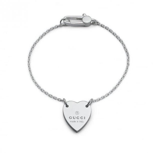 Stainless Steel Trademark Heart Bracelet