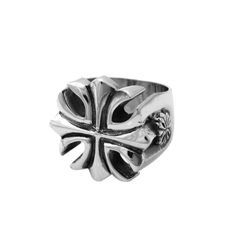 Sterling Silver Gothic Cross Ring Sz 11 (King Baby)