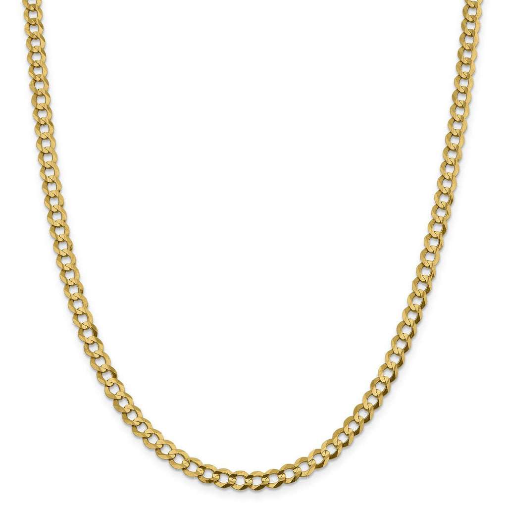 14k Yellow Gold 5.9mm 24' Cuban Link Chain