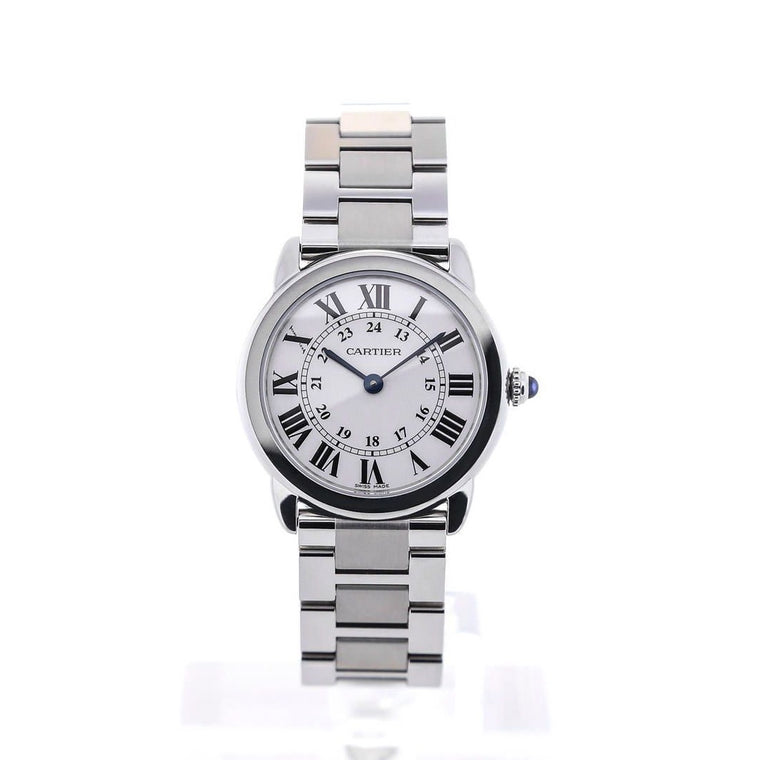 Stainless Steel 29mm Quartz Ronde Solo