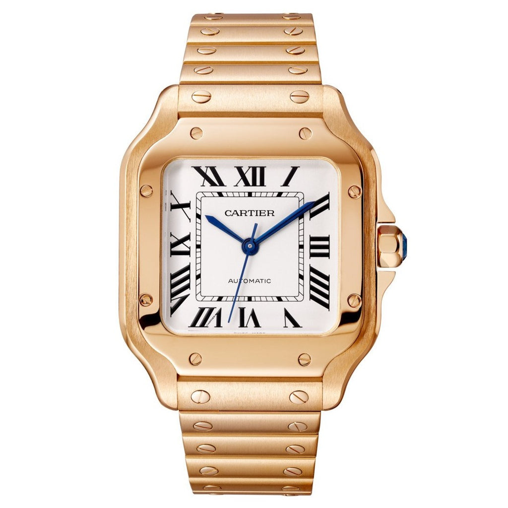 18k Rose Gold Medium Santos de Cartier