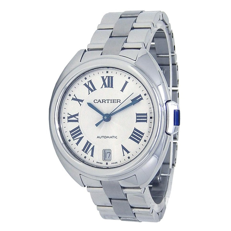 Stainless Steel 31mm Automatic Cle de Cartier