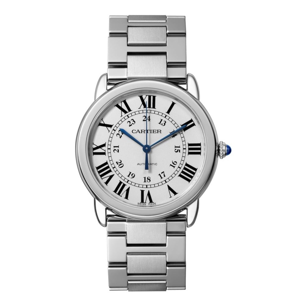 Stainless Steel 36mm Automatic Ronde Solo