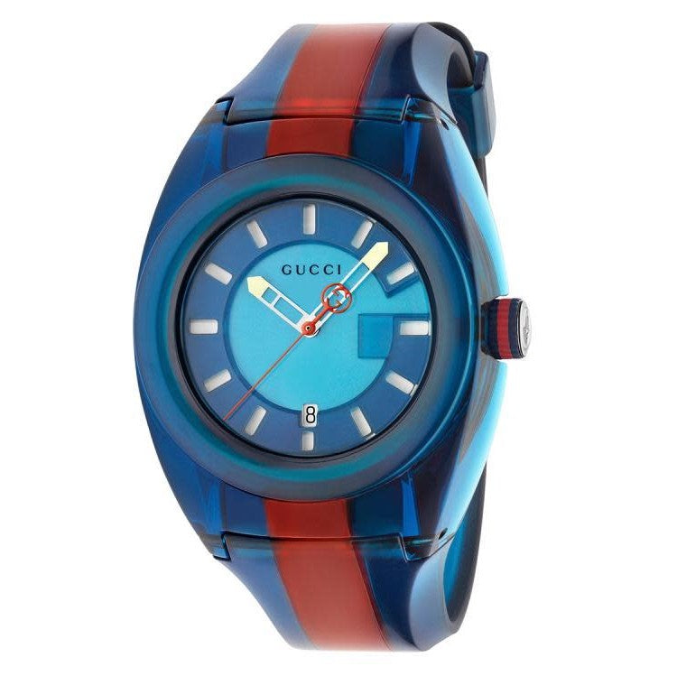 Sync XXL Blue & Red Luminous Watch