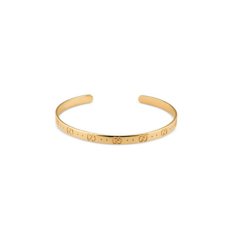 Iconic Bangle Bracelet (18k Yellow Gold)