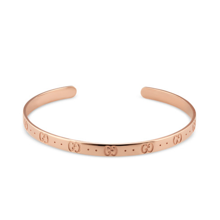 Iconic Cuff Bracelet (18k Rose Gold)