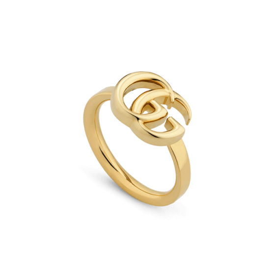 Running G Ring (18k Yellow Gold)