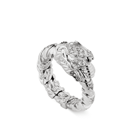 Diamond Dionysus Ring (18k White Gold)
