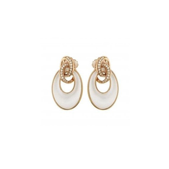 18k Rose Gold Mother of Pearl Liaison Earring (Chimento)