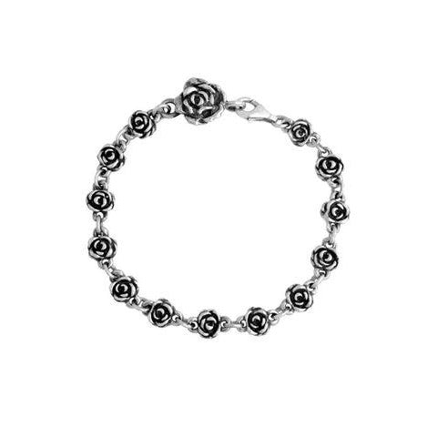 Rose Motif Chain Bracelet (King Baby)