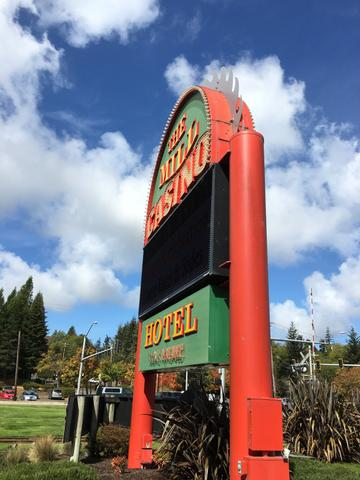 Casino Camping in Oregon and California