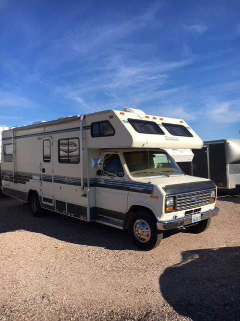 Buying an older model, used RV