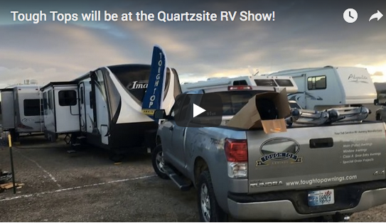 Tough Tops will be at the Quartzsite RV Show!