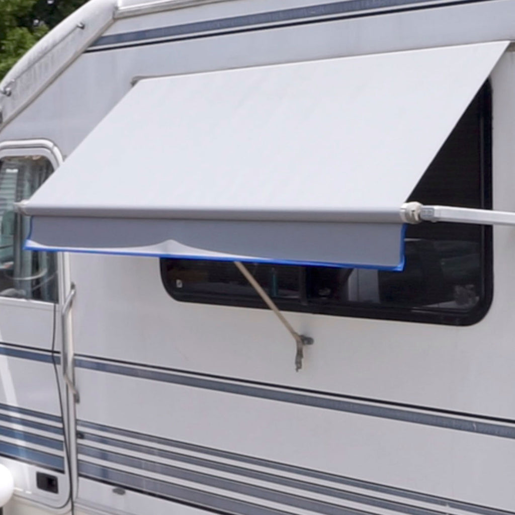 Heavy Duty Regular Vinyl RV Window Awnings – Tough Top Awnings