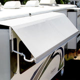 Carefree of Colorado Vinyl Omega Awning WITHOUT VALANCE