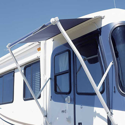 Carefree of Colorado Manual Vinyl Pull Down Over-the-Door Awning