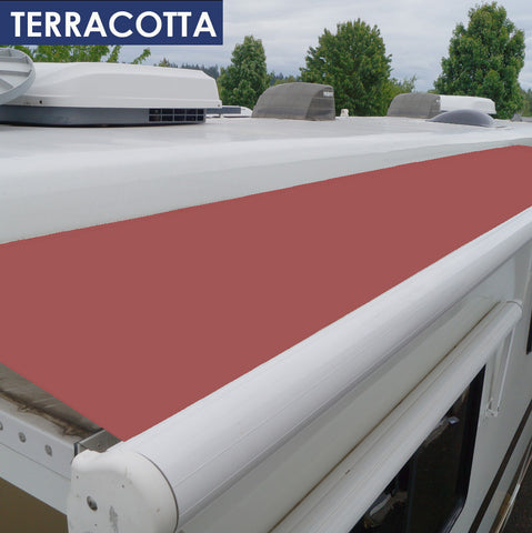40% OFF TERRA COTTA 15oz. Heavy Duty Vinyl RV Slideout Replacement Fabric