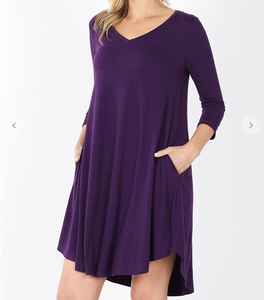Plus T-Shirt Dress
