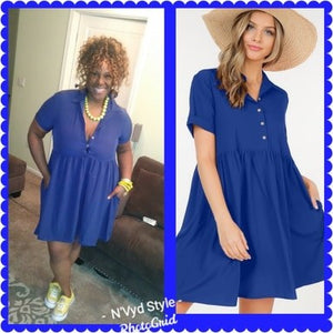 Blue Collar Dress