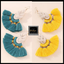 Load image into Gallery viewer, Tassel Drop Ear Candy