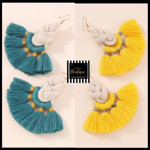 Tassel Drop Ear Candy