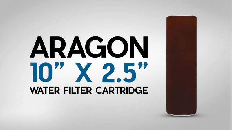 "Aragon Water Filter Replacement Cartridge 10"" x 2.5"" - Product Spotlight"