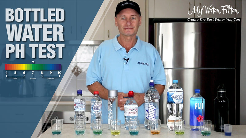 bottled water ph test
