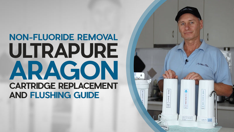 [VIDEO] Cartridge Replacement and Flushing Guide for Non-Fluoride Removal Ultrapure Water Filter Systems