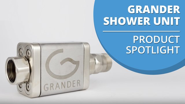 Grander Shower Flexible Unit