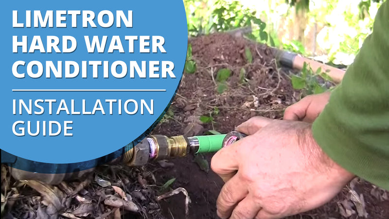 How to Install a Limetron Hard Water Conditioner Descaler [VIDEO]