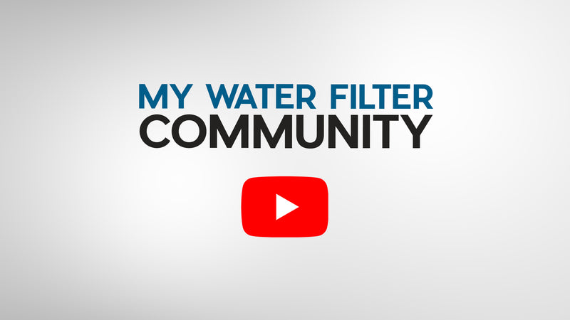 The My Water Filter Community
