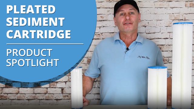 Pleated Sediment Cartridge Product Spotlight
