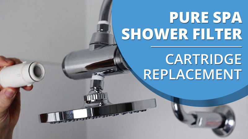 How to change the cartridge in your Pure Spa Shower Filter