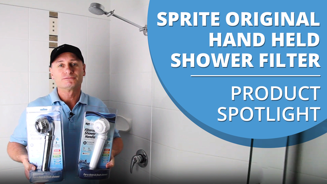 Sprite Original Hand Held Shower Filter Product Spotlight