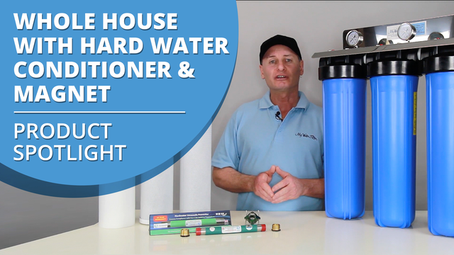 [VIDEO] Product Spotlight On Whole House Triple Big Blue Water Filter with Water Conditioner and Magnet