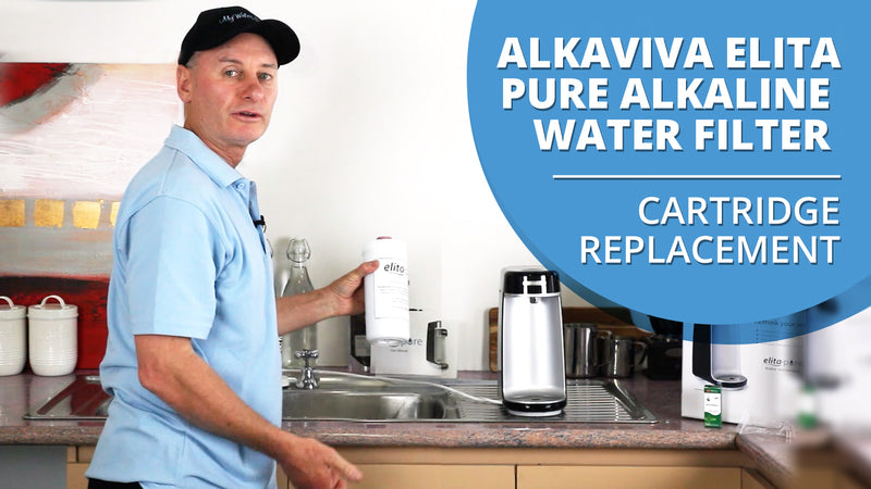 [VIDEO] Alkaviva Elita Pure Alkaline Water Filter - Cartridge Replacement Guide