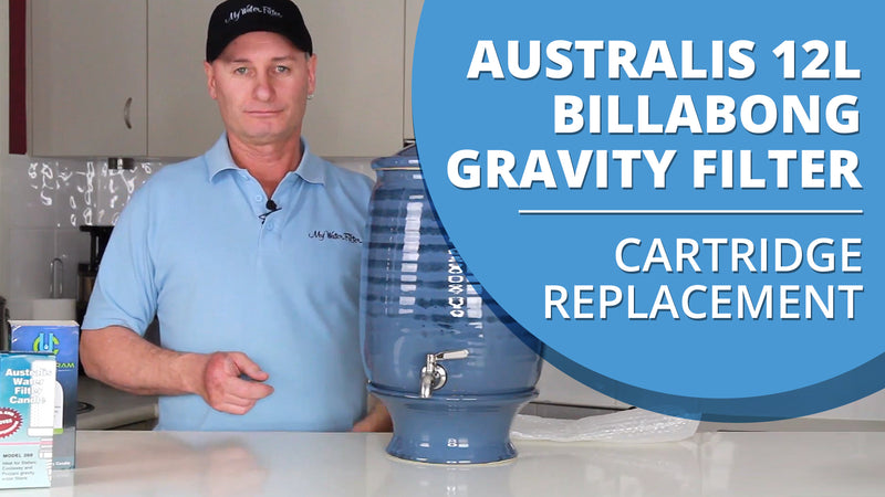 [VIDEO] How to change the water filter candle in your Australis 12L Billabong Stoneware Gravity Water Purifier
