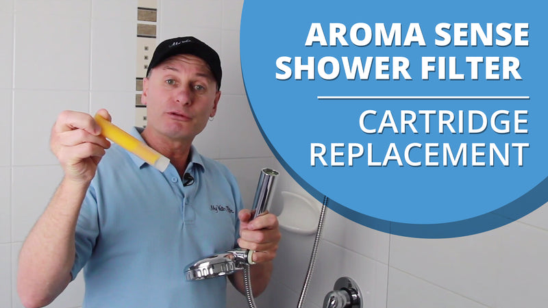 [VIDEO] How to change the cartridge in your Aroma Sense Q Vitamin C Shower Filter
