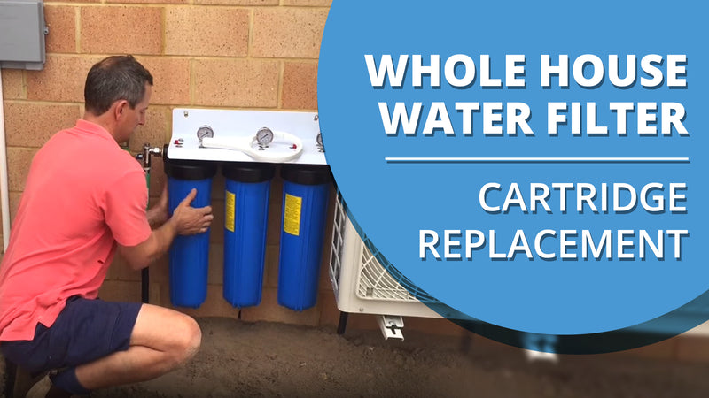 How to Change the Cartridges in your Whole House Water Filter [VIDEO]