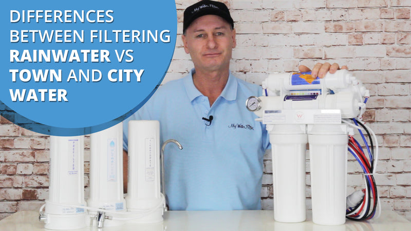 [VIDEO] Differences between filtering Rainwater vs Town and City Water